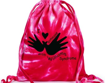 I love someone with Williams Syndrome bag