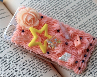 Star Watermelon Kawaii Decoden iPhone 6 Case