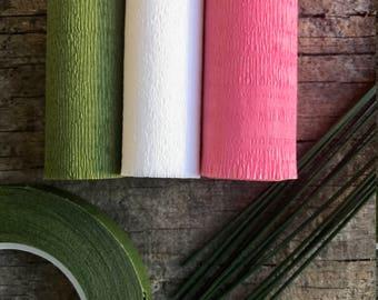 60g - DIY Italian Crepe Paper - Kit 1