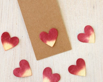 Paper Hearts - 4 colours