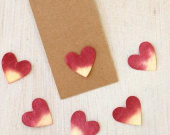 Paper Hearts - 4 colours