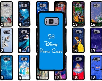 Samsung Galaxy S8 & Samsung Galaxy S8 Plus Disney Phone Case Choose from 70 Designs Beauty and the Beast Little Mermaid Peter Pan + More