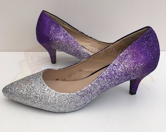Purple wedding shoes | Etsy