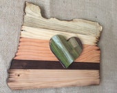 Rustic reclaimed wooden s...