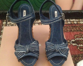 MIU MIU Platform Sandals SS11