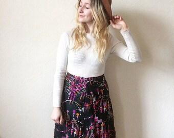 Nutshell Vintage Mod A-line Skirt