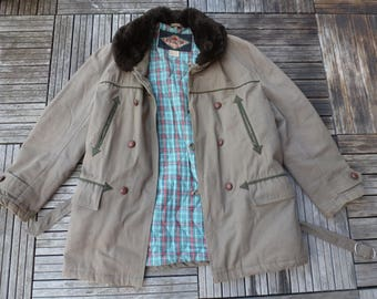 worker Canadian coat jacket