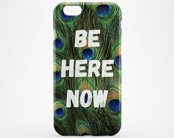 Peacock iPhone Case Quote iPhone 7 Case Feather iPhone 6 Case iPhone 7 Plus Case Galaxy Peacock Xperia Case iPhone 6 Plus Case iPhone 5 Case