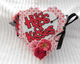 Valentine, Love, Heart Shape Scrapbook