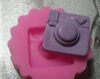Soft silicone mould inspired the LOGO of Instagram