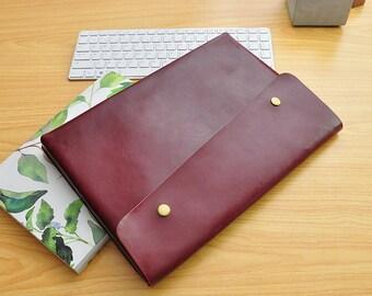 Leather Macbook 12 , Leather New Macbook 12 2015 Sleeve , Laptop Case 12 inch , 12 Macbook Cover ,Macbook 12 Case,Leather Macbook Pro 15-043