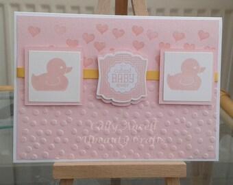 BC101 - Baby Girl Card