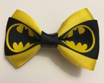 Batman Inspired Hair bows