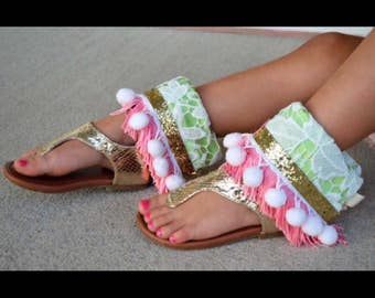 Mommy ankle cuffs to match