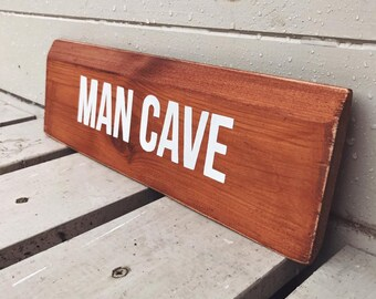 Man Cave - Wooden Sign