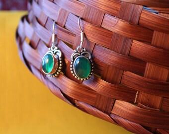 Jolin, earrings with Amethyst in silver