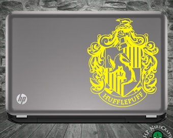 Hufflepuff House Crest Decal - Movie Version