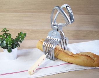 Meat slicer bread slicer vintage AS France| 1950 Accessory to cut roast meat