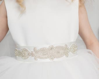 Ivory Isabella Flowergirls Dress