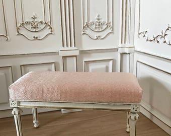 Bed bench 1:12 hua mei