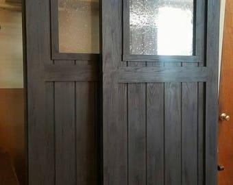 Wide Opening Double Barn Door