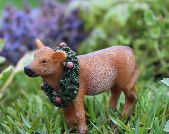 Fairy Garden  - Annabelle The Calf - Miniature