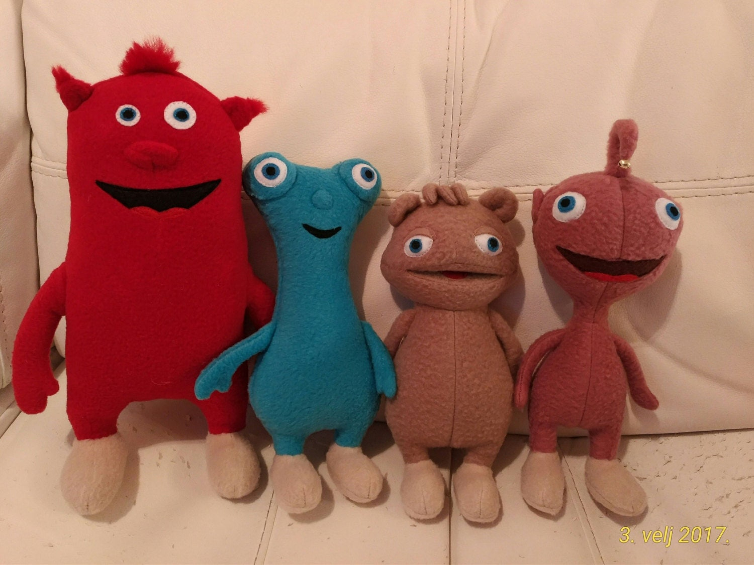 Like Toy Tv : Plush toys just like cuddlies all four by littleelfscro on