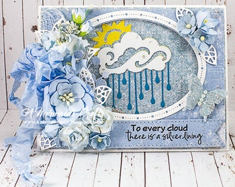 Every Cloud Has a Silver Lining Shaker Card