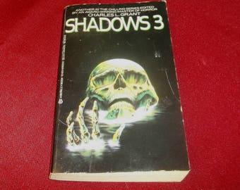 SHADOWS 3 Horror Anthology Short Stories Charles L. Grant 1985