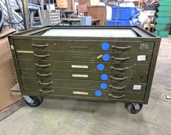 Hamilton Flat File 6 drawer