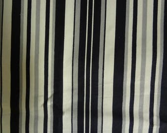 Fabric, Black Pinstripe, Grey Pinstripe, Pinstripe, Stripe, Historical Fabric, Classic Design, Novelty Fabric, Fabric by the Yard
