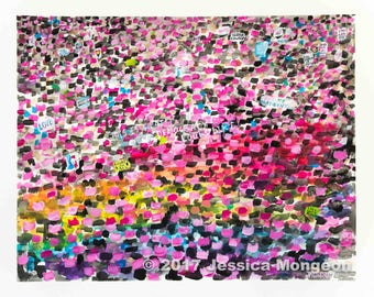 Pink Sea for Equality 8 x 10 in. Prints