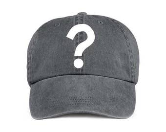 Question Mark Funny Humor Baseball Style Cap Hat