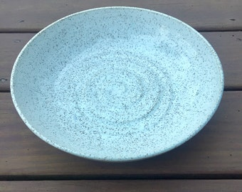 Handmade Speckled Ceramic Serving Bowl