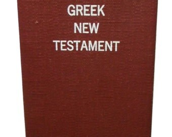 Christian The Greek New Testament 1966