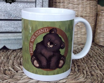 SALE BECAUSE IMPERFECTIONS - House Mormont from Game of Thrones fan art mug