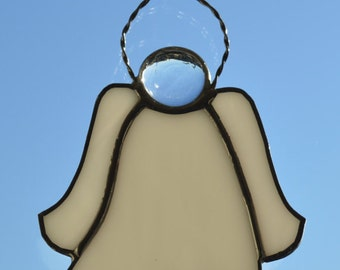 Small Angel Stained Glass Suncatcher