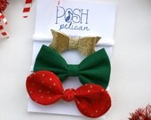 December Bow of the Month Pack
