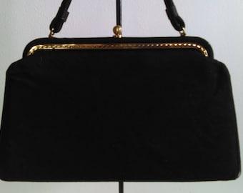 Vintage Black Handbag.