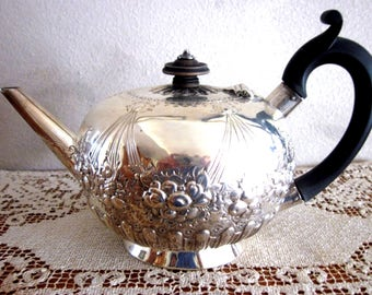 Victorian Sterling Silver Tea Set