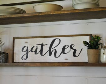 """GATHER 8""""x24"""" 