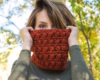 Crochet Cowl, Winter Cowl, Handmade Cowl, warm fall cowl, women's fashion, outdoor accessories, crochet infinity cowl, girls handmade scarf