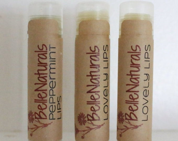 Featured listing image: Lip Balm - all natural, shiny, glossy, and delicious moisture for your lips, cold sore remedy