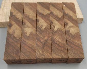 SALE - WoodenAcres - Chechen Wood Pen Blanks - Set B