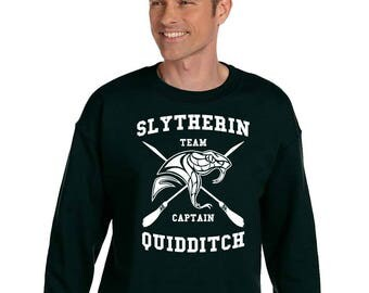 sweatshirt slytherin etsy fr. Black Bedroom Furniture Sets. Home Design Ideas