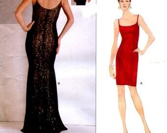 Vogue 2034 Bellville Sassoon 1997 Designer Original Uncut Sewing Pattern Sizes 8 - 10 - 12