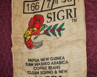 Coffee Bean Bags, Large Burlap Bags, Arabica Coffee Beans