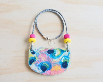 Resin Necklace | Wearable Art | Handmade | Frankie Good Stuff Awards Entry | 'Go Together' - 'Find Your Tribe'