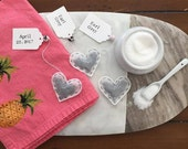 Heart Shaped Tea Bags - Choose Your Tea. Personalize the Tag. Gift for the Tea Lover. Perfect Party Favors.