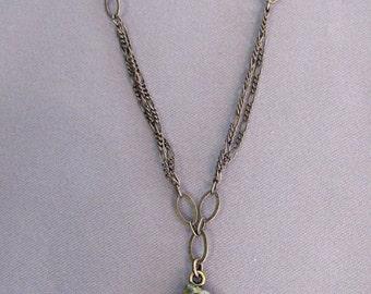Unakite Necklace/Adjustable Length